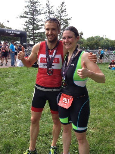 mpls tri post race with nikki