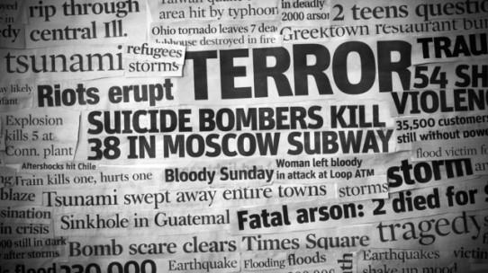Terror Headline Collage